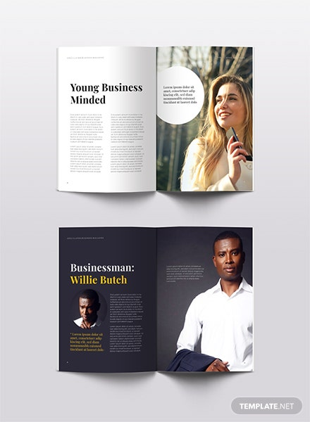 Free business magazine template download 36 magazines in indesign free business magazine template flashek Choice Image