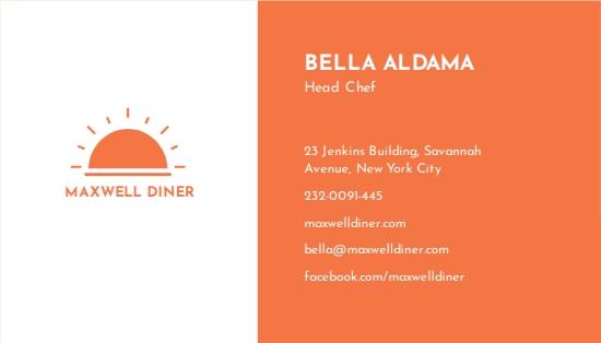 Modern Restaurant Business Card Template 1.jpe