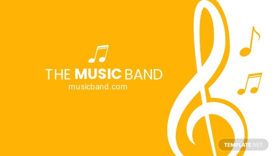 Music Band Business Card Template.jpe