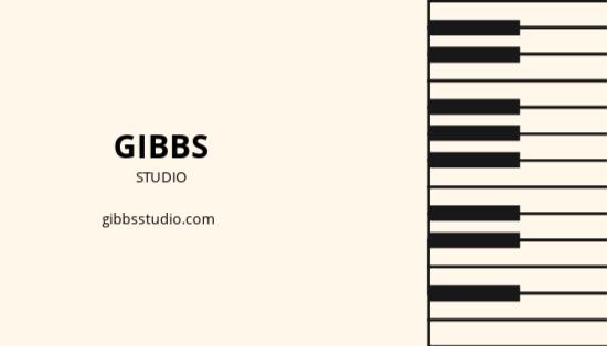 Musician Business Card Template 1.jpe
