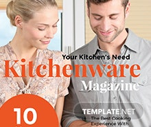 Free Marketing Magazine Template