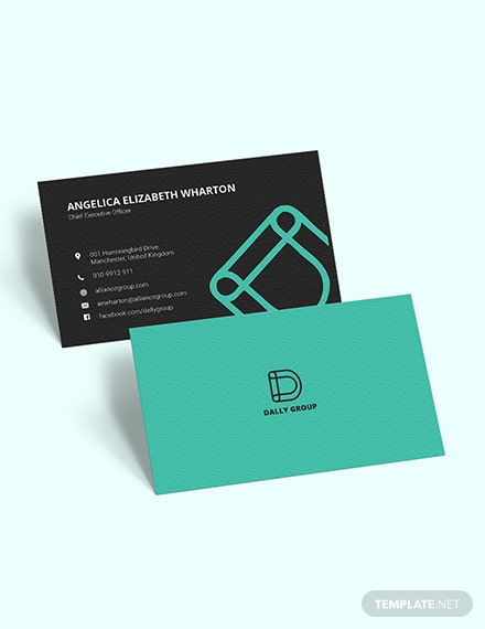 Simple CEO Business Card Download