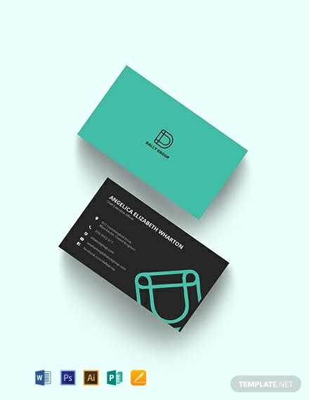Simple CEO Business Card Template