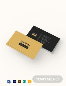 Taxi Cab Business Card Template