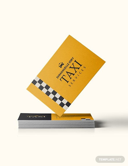 Taxi Service Business Card Download
