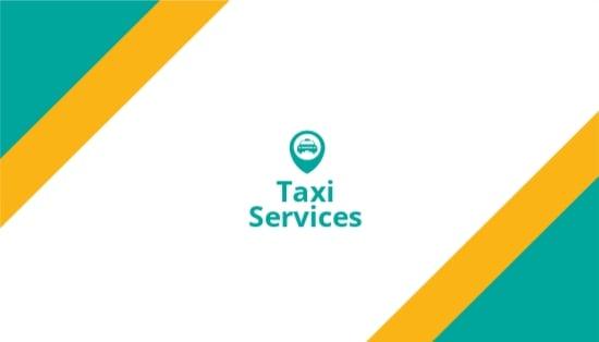 Taxi Service Business Card Template.jpe