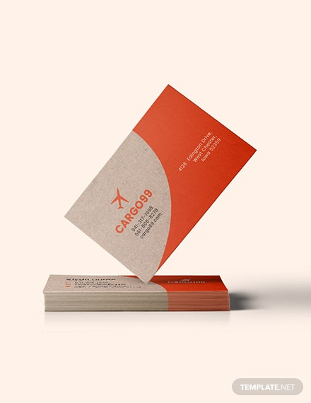 Transport Business Card Download