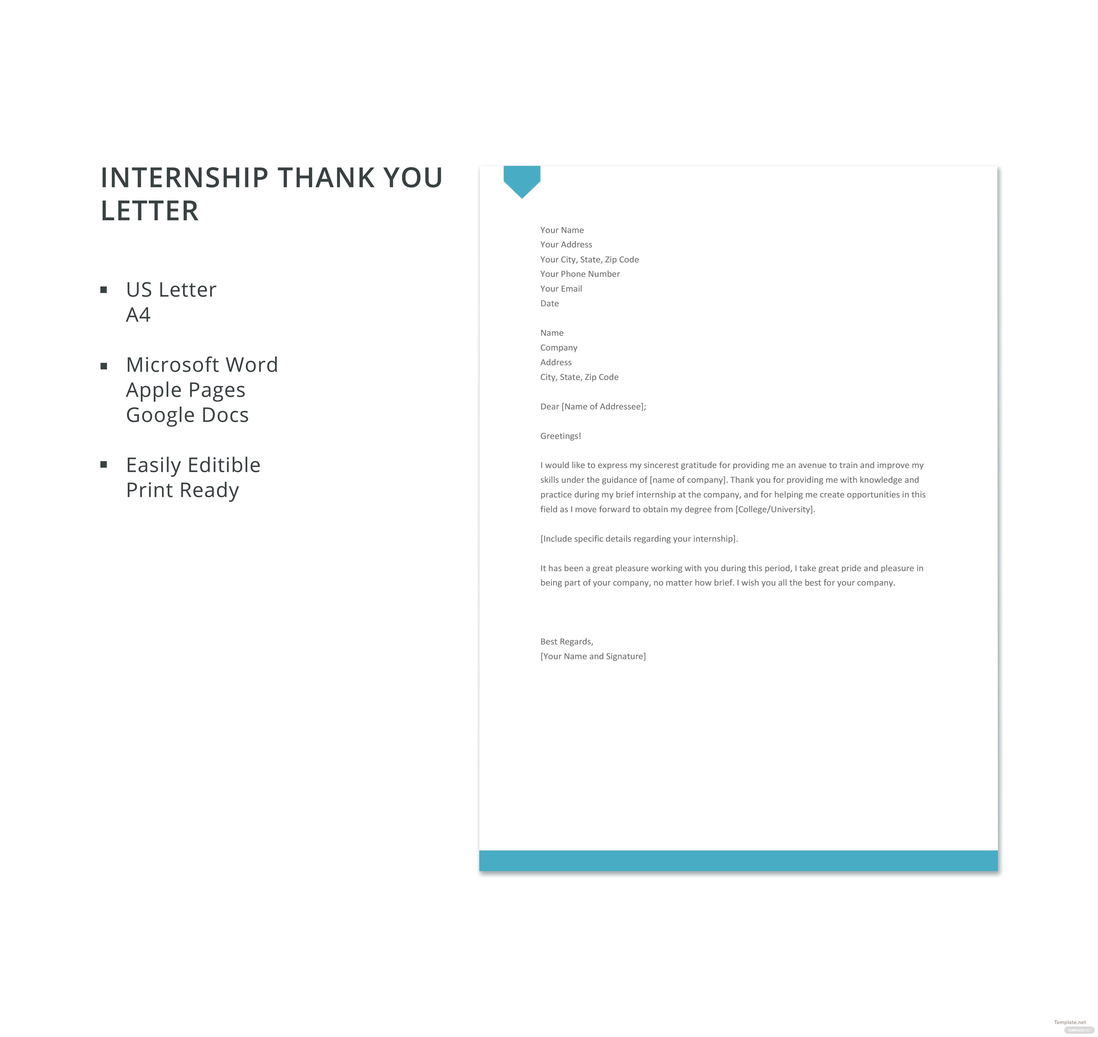 Free internship thank you letter template in microsoft word apple free internship thank you letter template thecheapjerseys Images