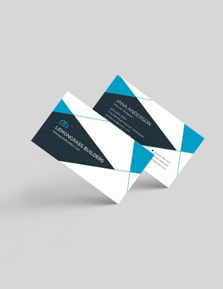 Interior Design Business Card Download