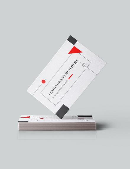 Interior Designer Business Card Download