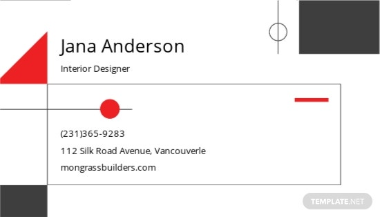 Interior Designer Business Card Template 1.jpe
