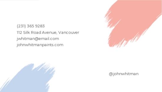 Modern Painter Business Card Template 1.jpe