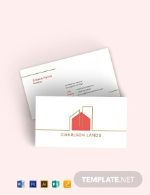 Modern Realtor Business Card Template