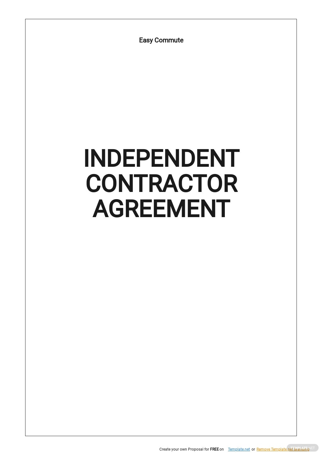 Independent Contractor Agreement Template.jpe