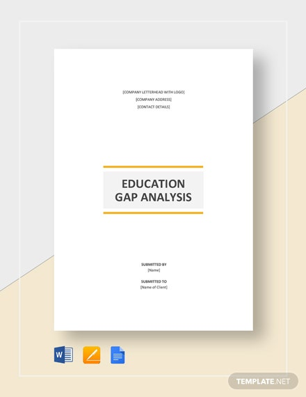 Education Gap Analysis