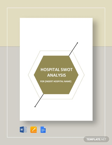 Hospital SWOT Analysis Template