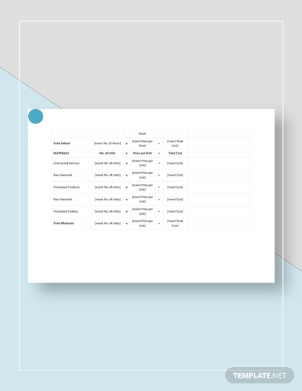Product Cost Analysis Download