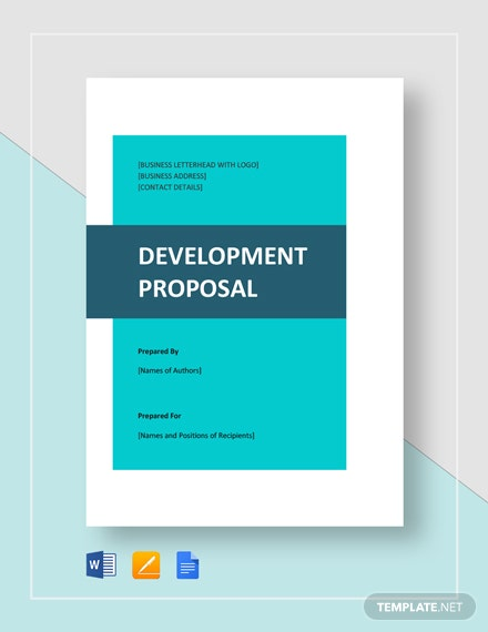 Development Proposal Template