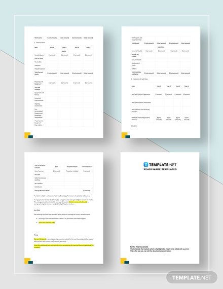 Financial Analysis Report Download