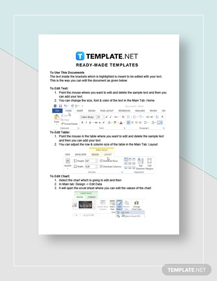 Financial Analysis Report Instructions
