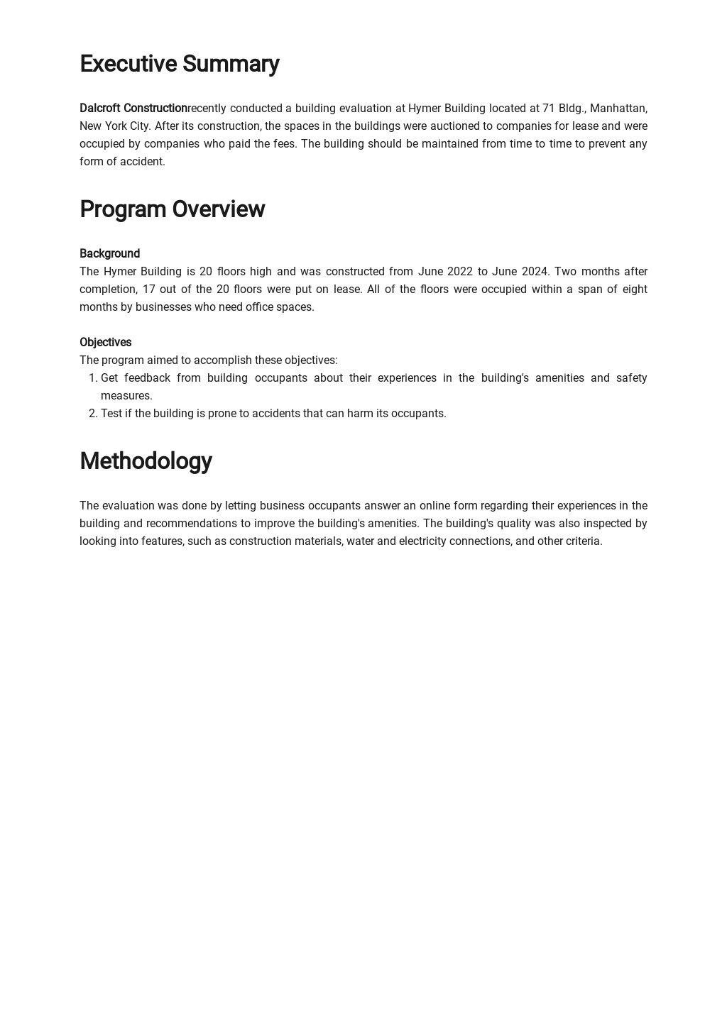 Building Evaluation Report Template  1.jpe