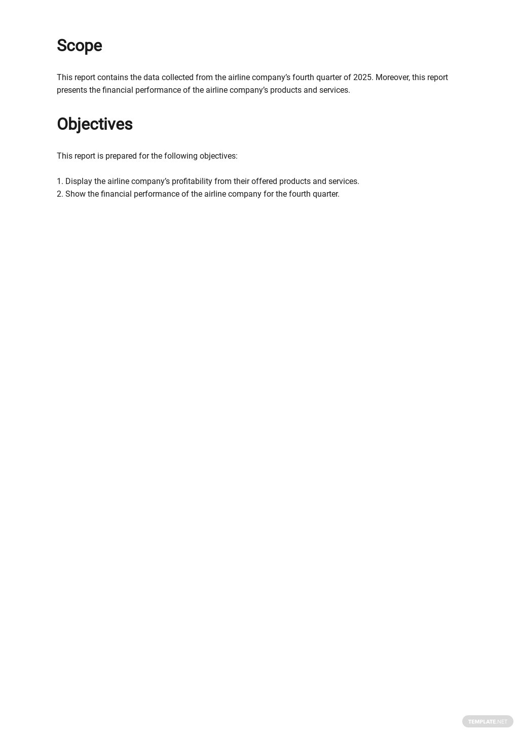 Monthly Financial Report Template  1.jpe