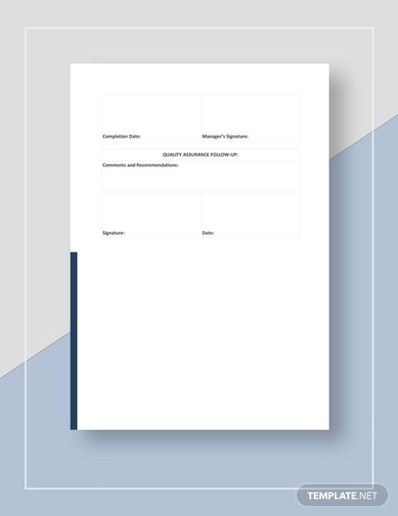 NonConformance Report Download