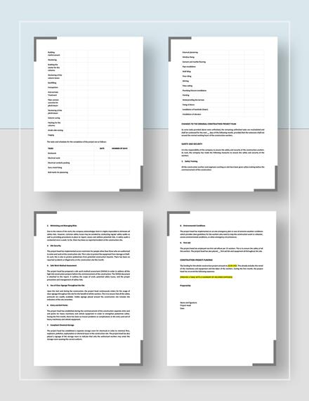 Project Progress Report Download