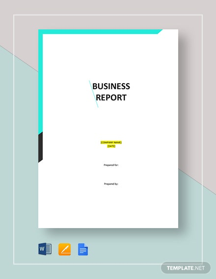 business report 4