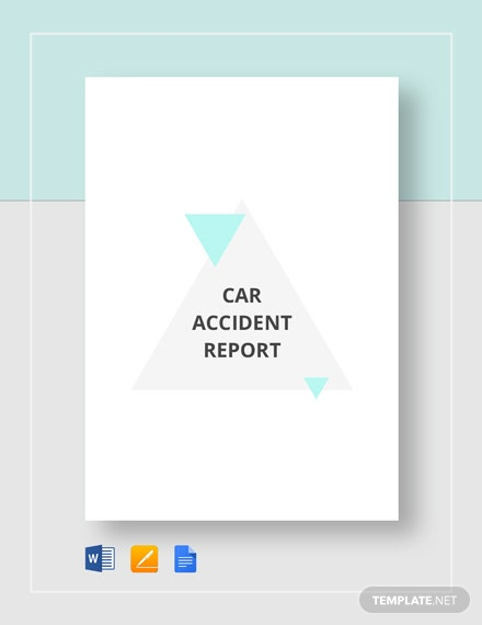 Car Accident Report Template