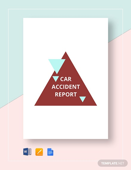 car accident report