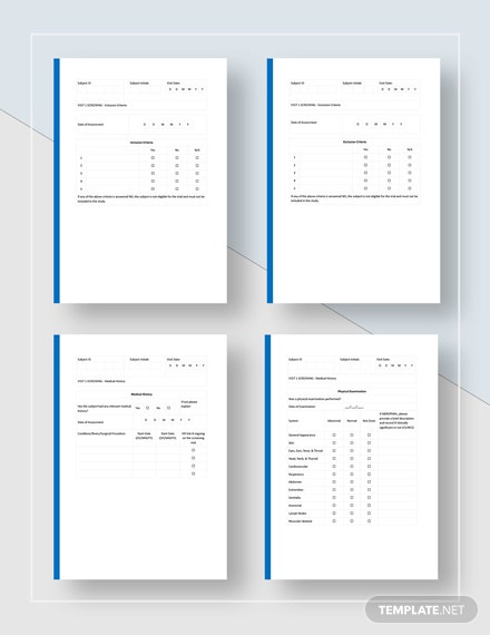 Case Report Form Download