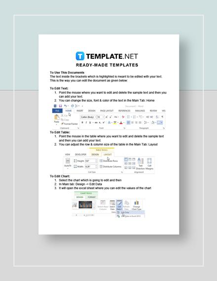 Church Financial Report Instructions