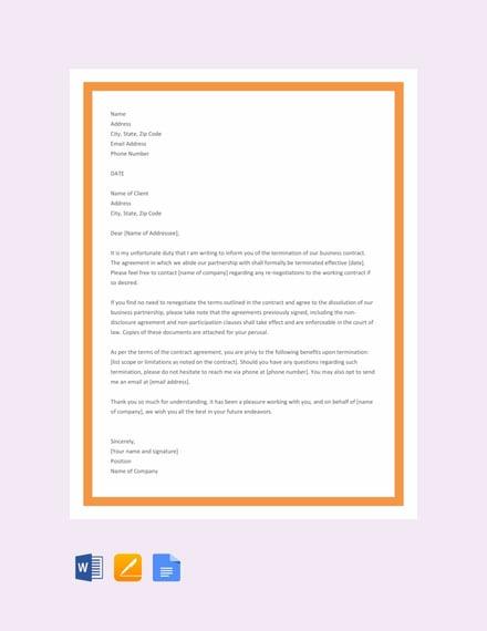 21 Free Contract Templates Pdf Word Google Docs
