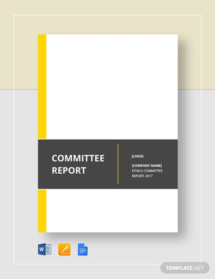 Committee Report Template