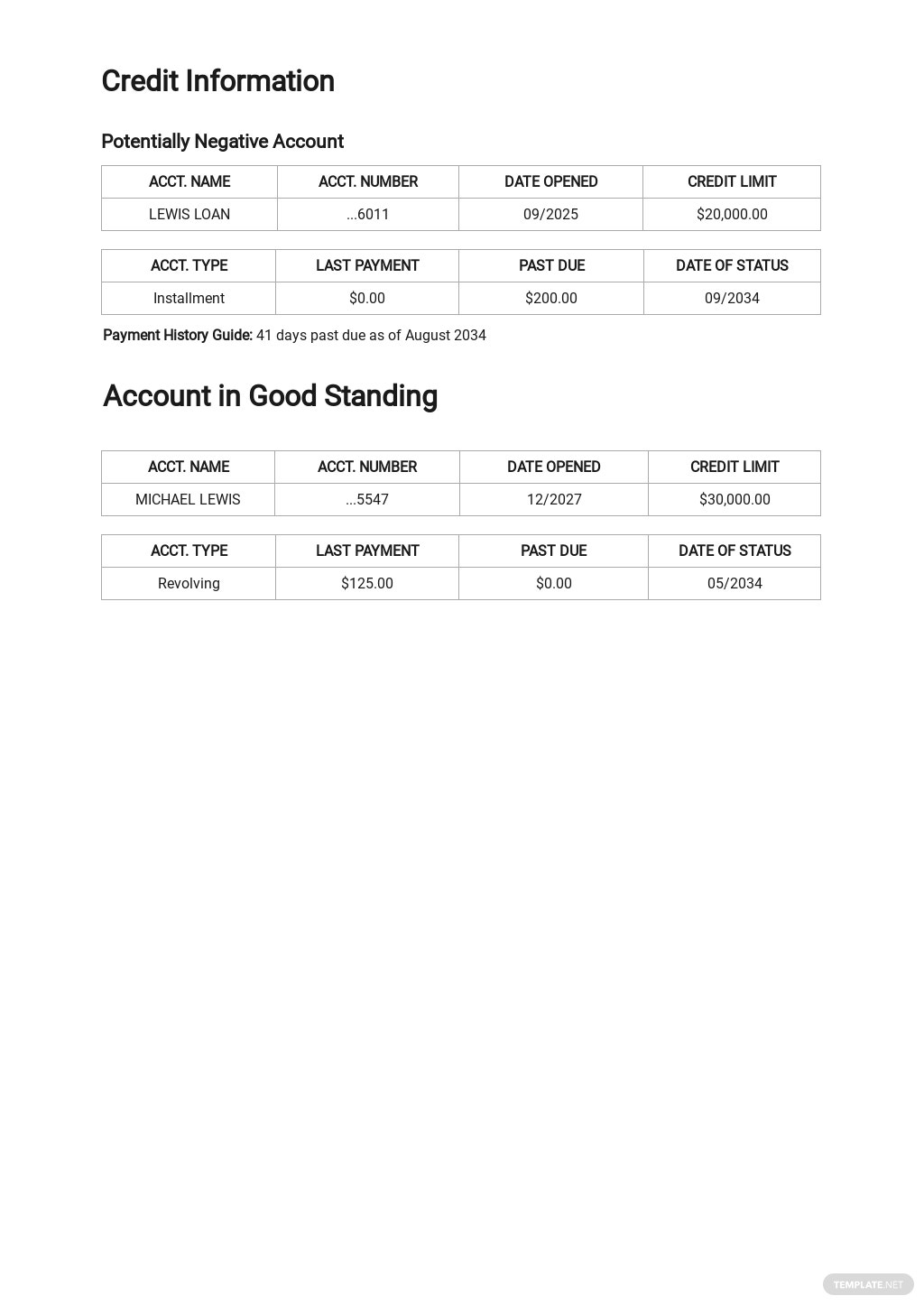 Credit Report Authorization Form Template  2.jpe