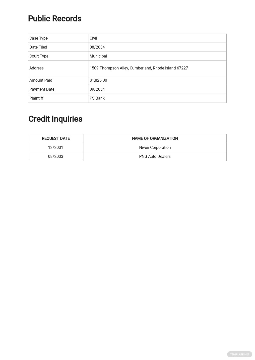 Credit Report Authorization Form Template  3.jpe