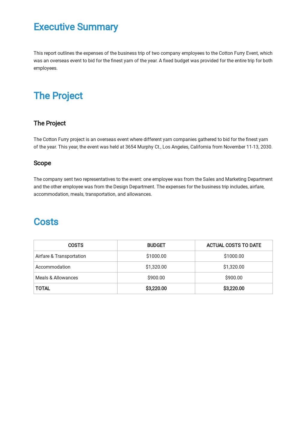 Employee Travel Expense Report Template  1.jpe