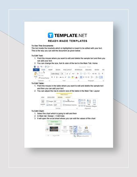 Financial Audit Report Instructions
