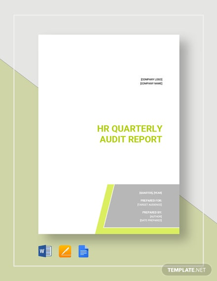 hr audit report