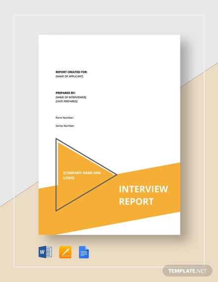 interview report