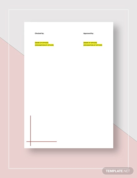 Sample Mileage Report Form