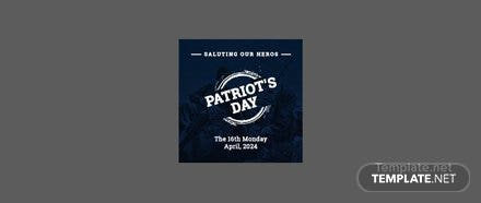 Free Patriot's Day Facebook Profile Photo