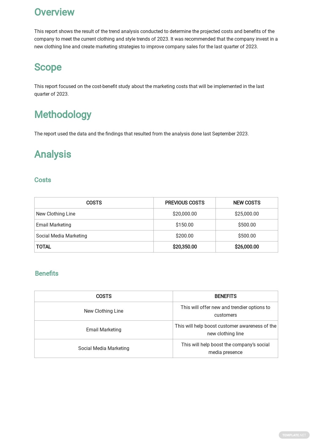 Trend Analysis Report Template 1.jpe