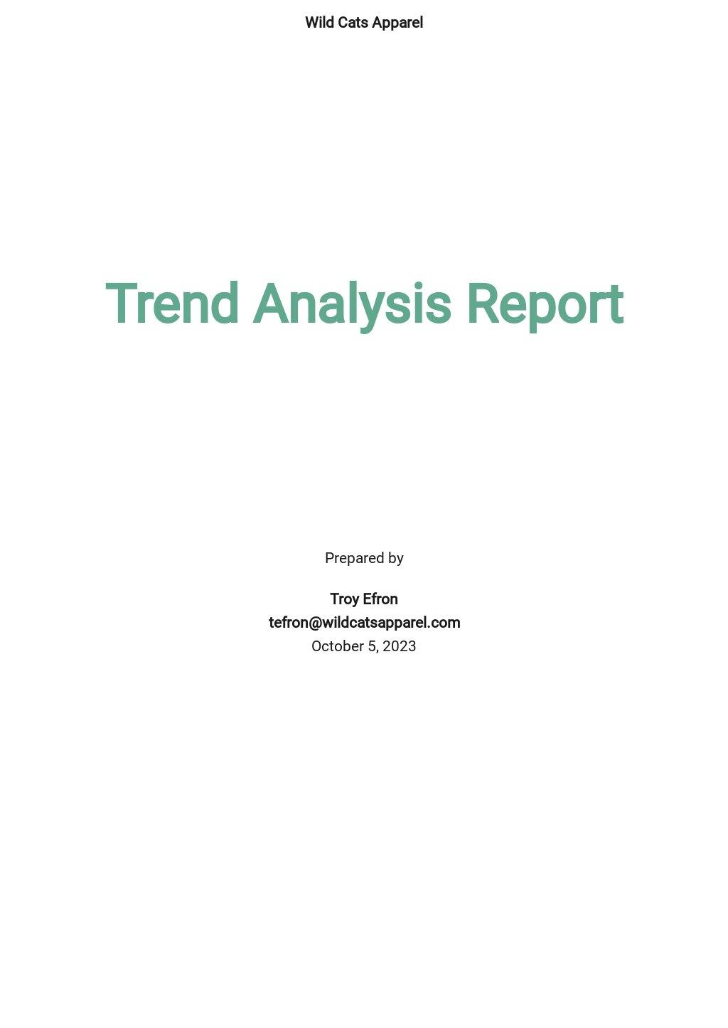 Trend Analysis Report Template.jpe