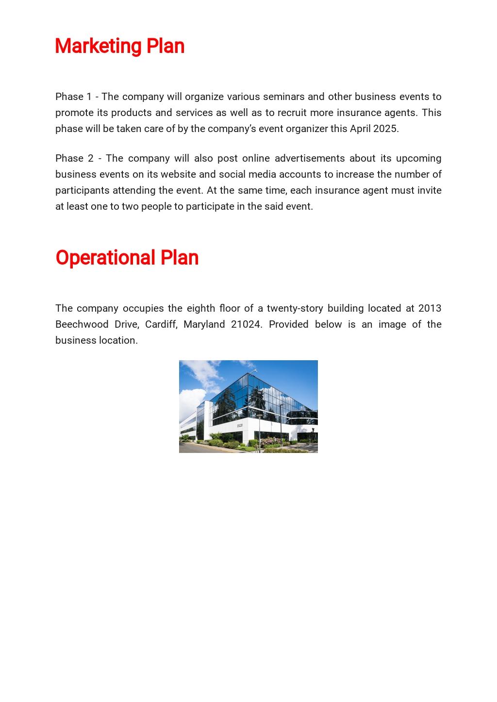 Insurance Business Plan Template  4.jpe