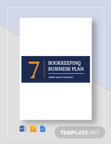 Bookkeeping Business Plan Template