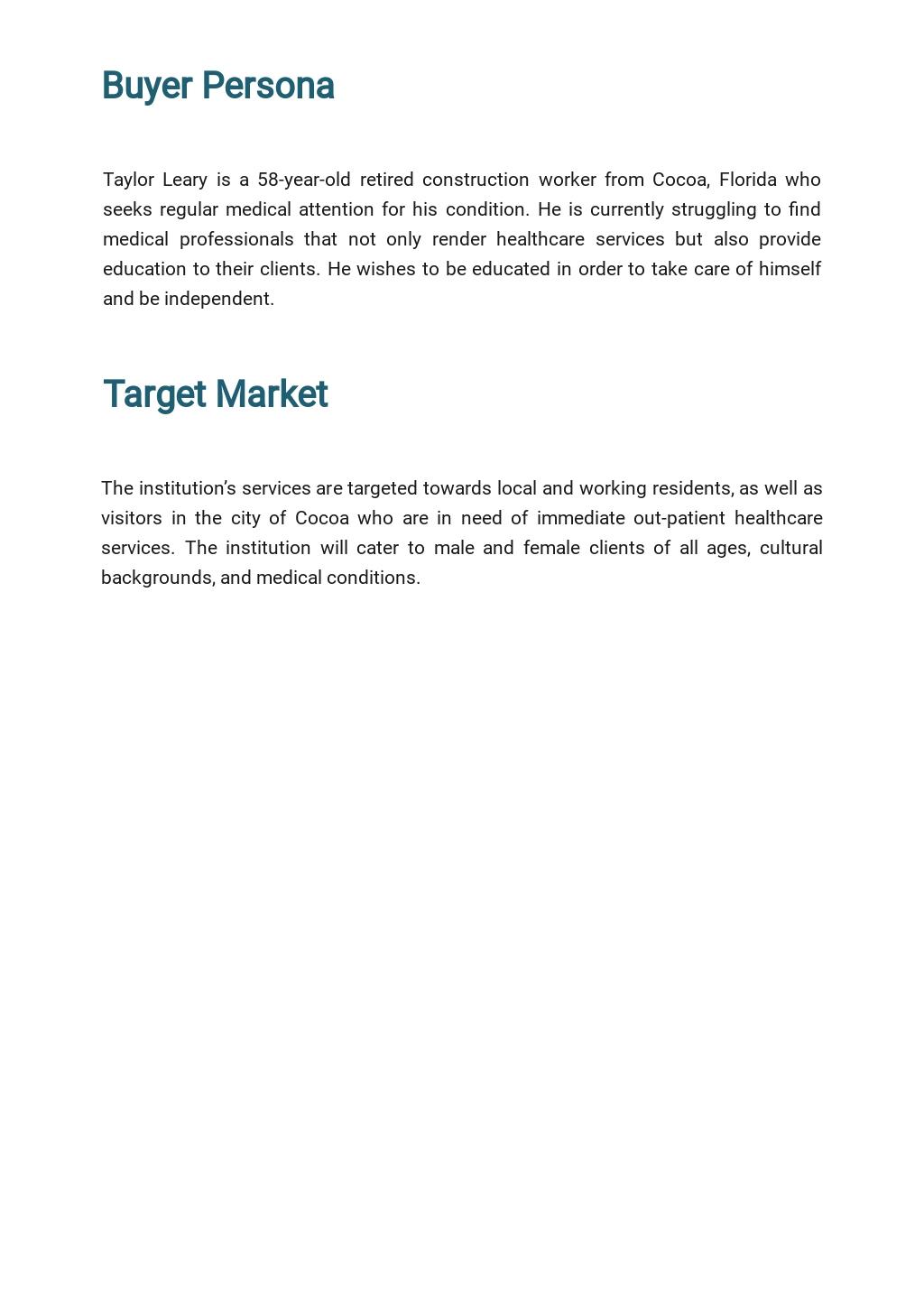 Healthcare Marketing Plan Template  2.jpe