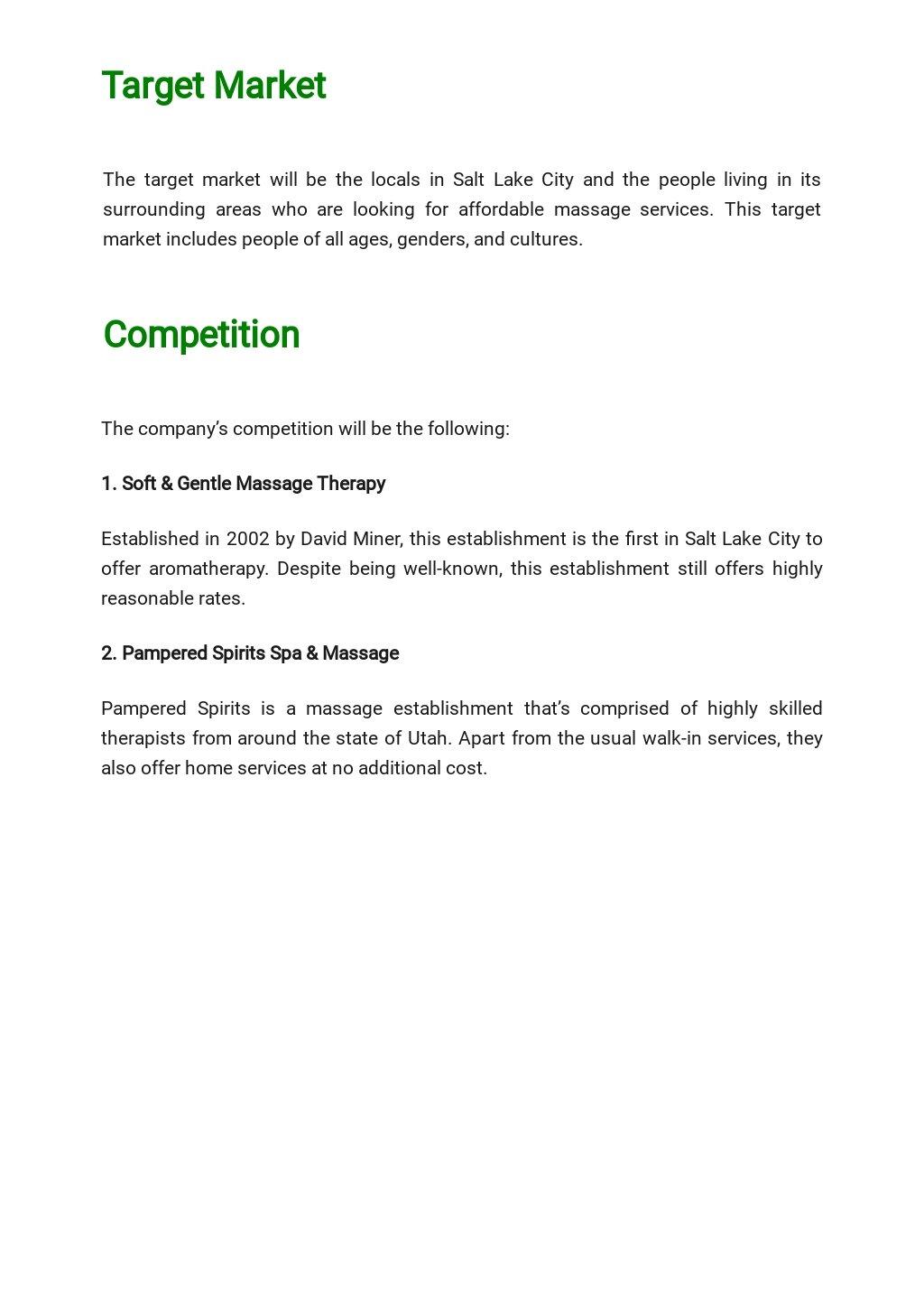 Massage Therapy Business Plan Template  2.jpe