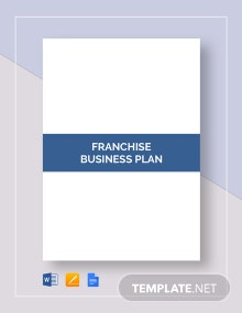 Franchise Business Plan Template